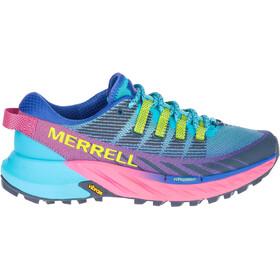 Merrell Agility Peak 4 Shoes Women, Turquesa/violeta
